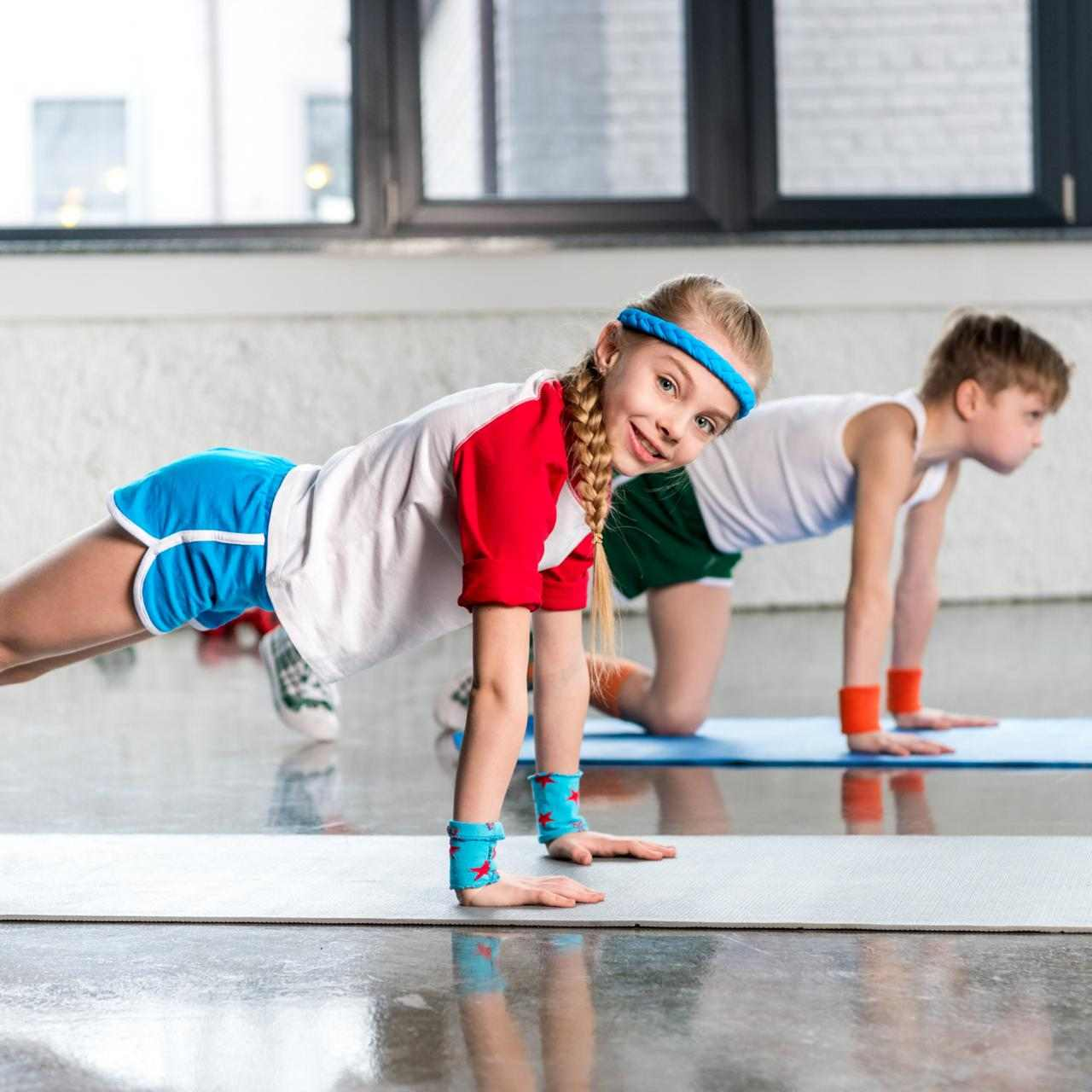 Treinamento de Força para crianças e adolescentes